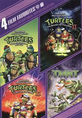 Teenage Mutant Ninja Turtles Collection: 4 Film