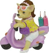 Aye Chihuahua - Stylish Shopper - Figurine