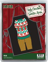 Ugly Sweater (Wreaths & Presents) - Apron