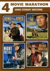 4 Movie Marathon: James Stewart Westerns (Bend of