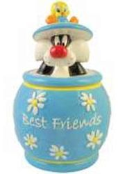 Tweety & Sylvester Best Friends Cookie Jar