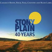 40 Years of Stony Plain Records (3-CD)