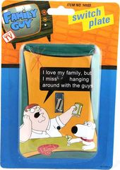 Family Guy - Peter & Brian - Light Switch Plate