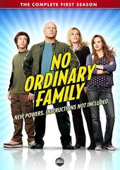 No Ordinary Family - Complete 1st Season (4-DVD)