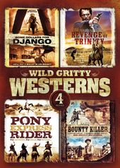 Wild Gritty Westerns: 4-Movie Collection (Some