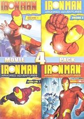 Iron Man: Armored Adventures - Volume 1-4 (4-DVD)