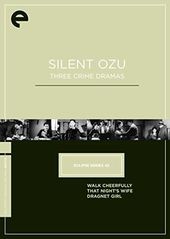 Silent Ozu: Three Crime Dramas (3-DVD)