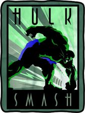 Marvel Comics - Hulk Smash Fleece Throw Blanket