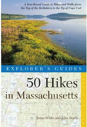 50 Hikes in Massachusetts: A Year-round Guide to