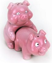 Naughty Pigs - Salt & Pepper Shaker Set