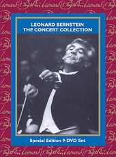 Leonard Bernstein - The Concert Collection (9-DVD)