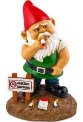 Gnome Smoking - Garden Gnome