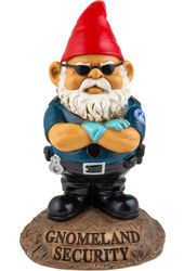 Gnomeland Security - Garden Gnome
