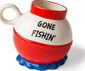 Gone Fishin' - Ceramic 20oz. Mug