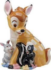 Disney - Bambi, Thumper & Flower - Cookie Jar