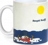 Melting Snowman - Heat Activated 12 oz. Ceramic
