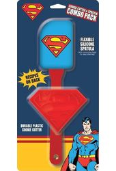 DC Comics - Superman - Spatula Cookie Cutter 2pk