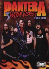 Pantera: 3 Vulgar Videos from Hell (2-DVD, Dolby