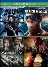 Doom / Pitch Black / Serenity / Hellboy II: The