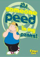 Family Guy - Chris - Oh No Someone Peed In My
