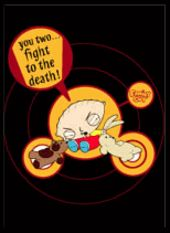 Family Guy - Stewie - Fight To The Death - Magnet