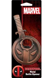 Marvel Comics - Deadpool - Metal Bottle Opener
