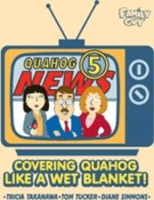 Family Guy - Newscast Covering Quahog - Magnet