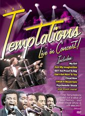 The Temptations - Live in Concert!