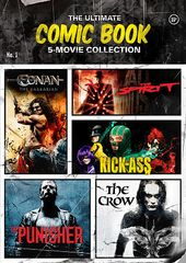The Ultimate Comic Book 5-Movie Collection (5-DVD)