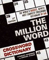 Crosswords/Dictionaries: The Million Word