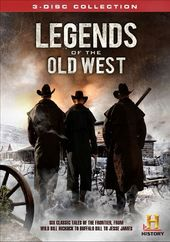 History Channel - Legends of the Old West (3-DVD)