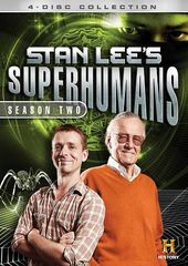 Stan Lee's Superhumans - Season 2 (4-DVD)