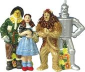 The Wizard of Oz - Four Friends Salt & Pepper