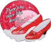 Wizard of Oz - Ruby Slippers - Wall Clock
