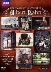 The Wonderful World of Albert Kahn (3-DVD)