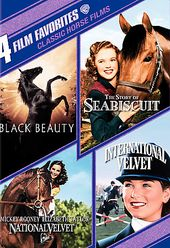 4 Film Favorites: Classic Horse Films (Black