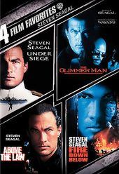 Steven Seagal: 4 Film Favorites (Under Siege /