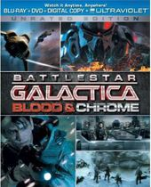 Battlestar Galactica - Blood & Chrome (Blu-ray +