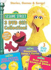 Sesame Street - Stories, Games & Songs 3-Pack