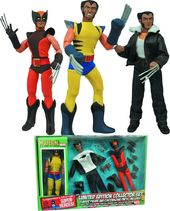 "Marvel Comics - Wolverine 8"" Retro Action Figure"