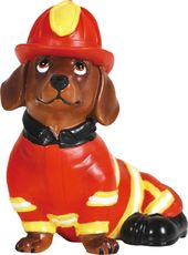 Hot Diggity Dog - Fireman Doxie - Figurine