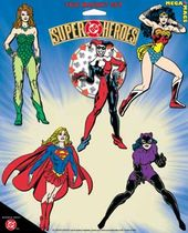 DC Comics - Female Superheroes - 5-Piece Magnet