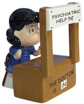 Peanuts - Psychiatrist Lucy Salt & Pepper Shakers