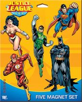 DC Comics - 5 Pack Justice League Magnet Set