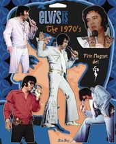 Elvis Presley - 1970's - 5-Piece Magnet Set
