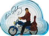 Elvis Presley - Resin Motorcycle - Figurine
