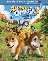 Alpha and Omega 3: The Great Wolf Games (Blu-ray)