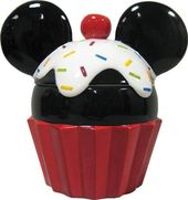Disney - Mickey Mouse - Cupcake Cookie Jar