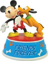 Disney - Mickey Mouse & Pluto - Musical Figurine