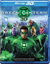 Green Lantern 3D (Blu-ray + DVD)